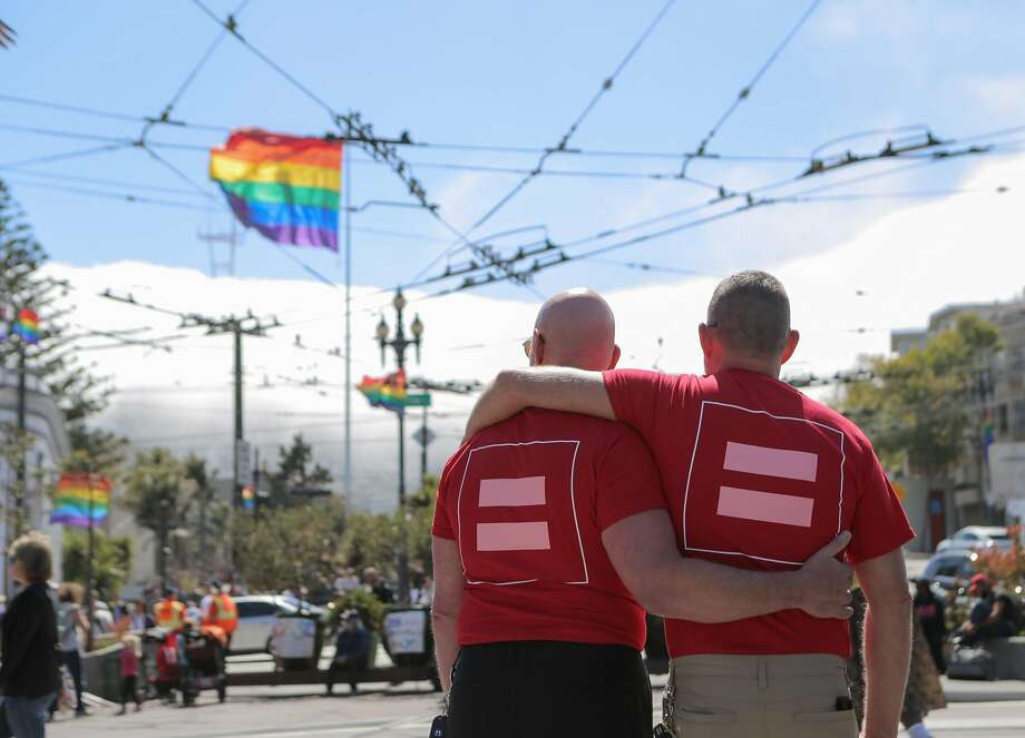 A new study that analyzed the DNA of nearly half a million people has found that while genetic differences play a significant role in sexual preference, there is no single gene responsible. Photo: Loren Elliott / The Chronicle 2015