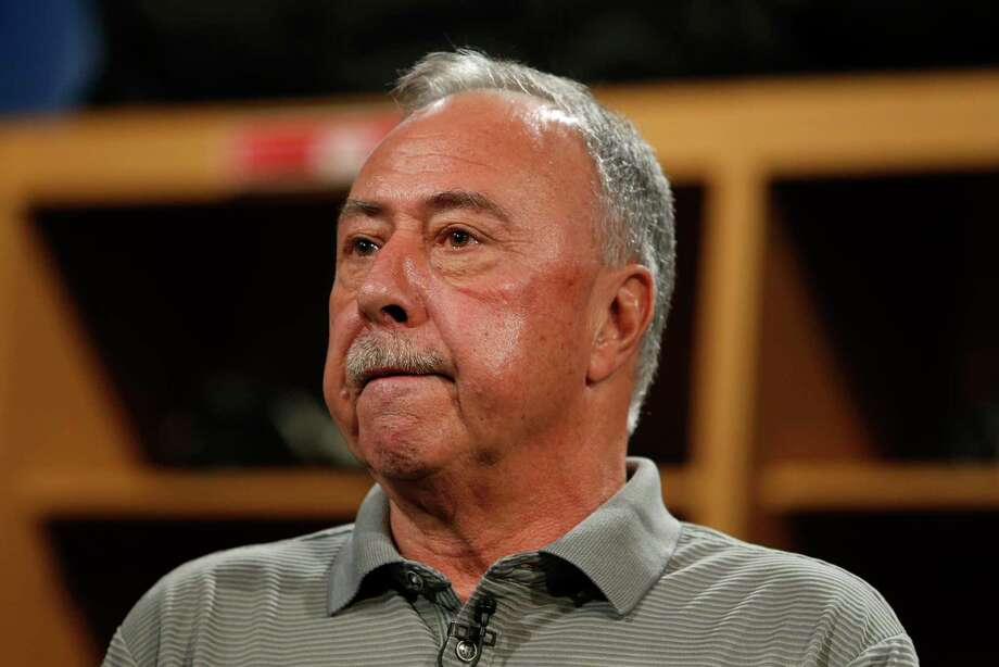 NESN commentator and former Red Sox second baseman Jerry Remy spoke at the Middlesex Chamber Luncheon & Book Signing on Wednesday in Cromwell. Photo: Boston Globe Via Getty Images / 2017 - The Boston Globe