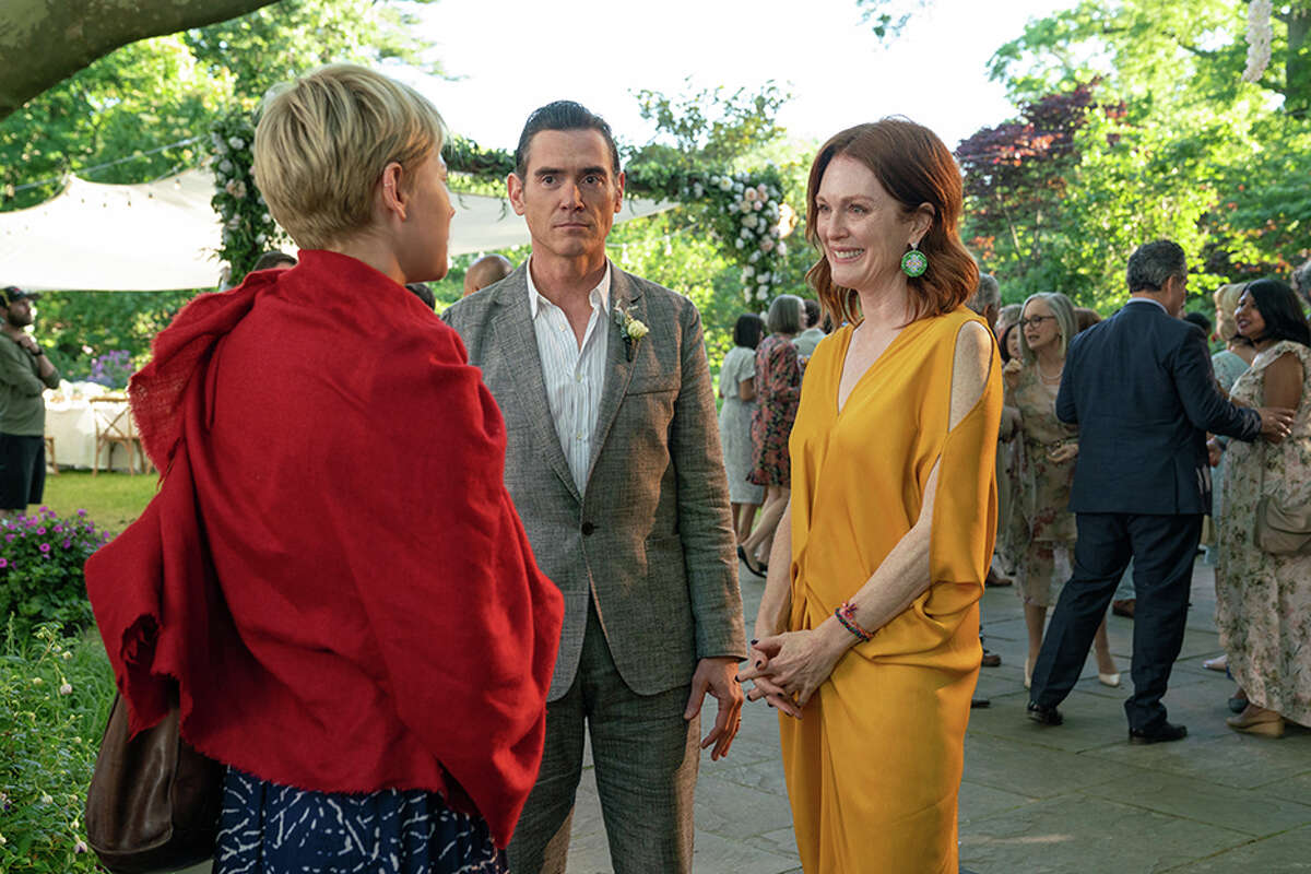 From left: Michelle Williams, Billy Crudup and Julianne Moore in