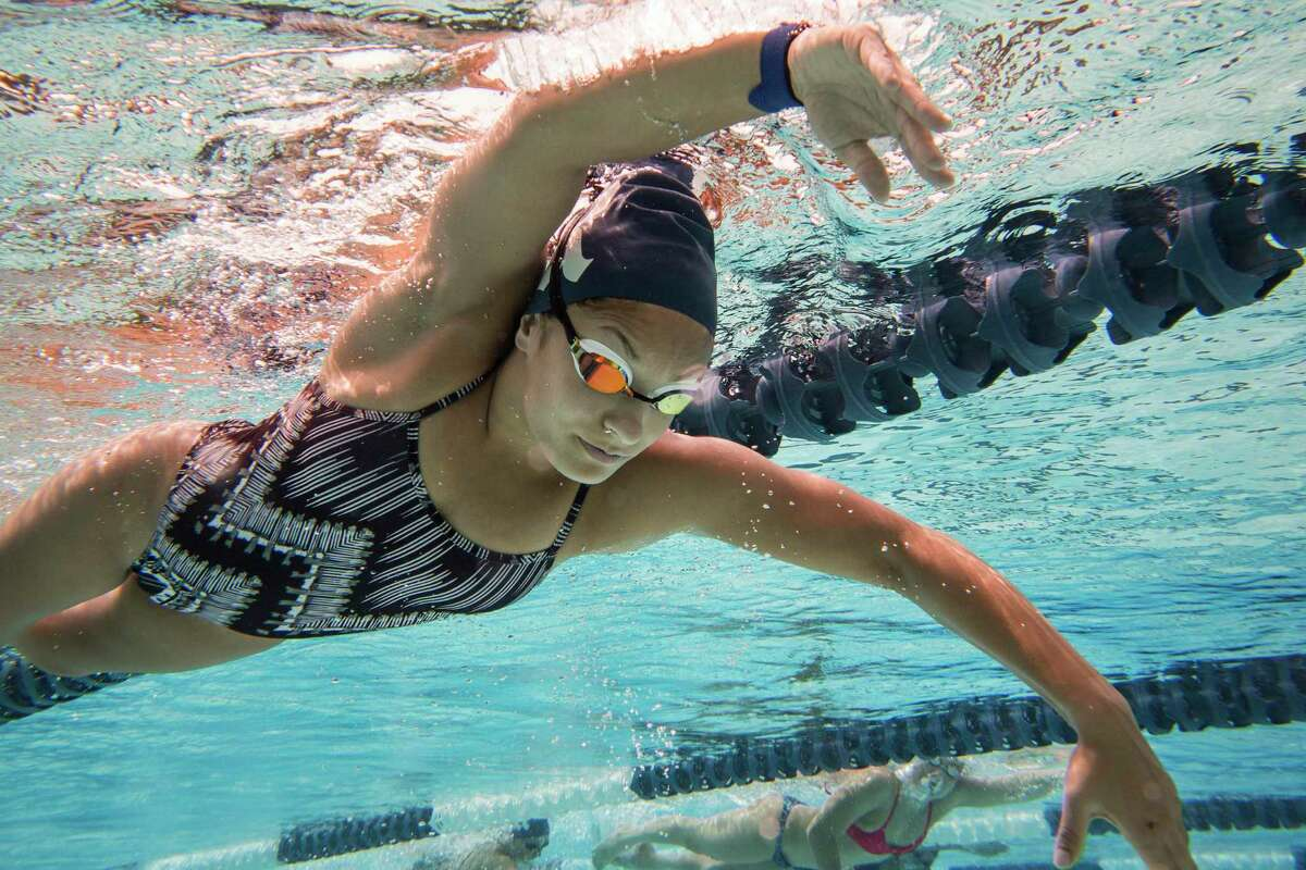 Ahalya Lettenberger is one of nine freshmen on Rice University's swim team. Lettenberger hopes to medal at the Para Swimming World Championships next week to qualify for the Tokyo 2020 Paralympic Games.