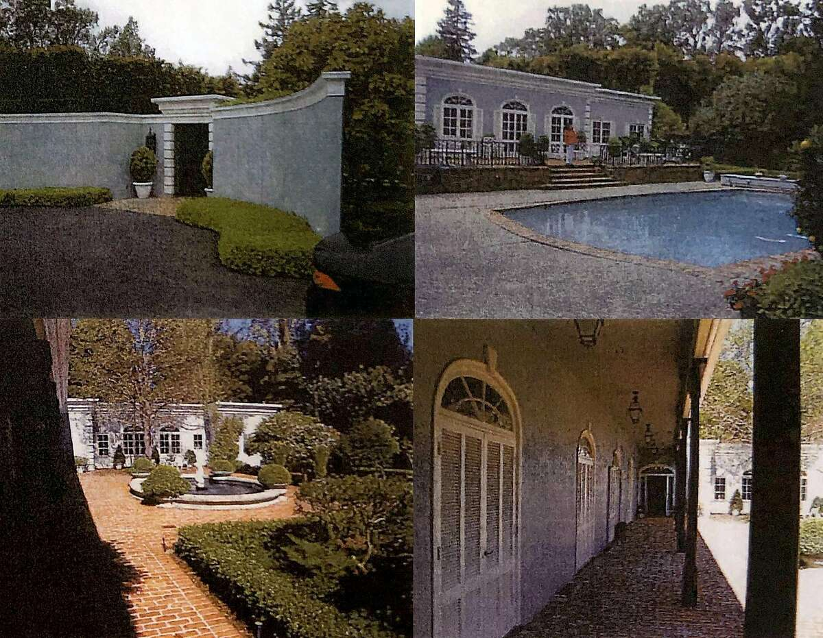 Hillsborough planning records show snapshots of an older house at 2186 Parkside Avenue that was bought in 2007 and torn down.
