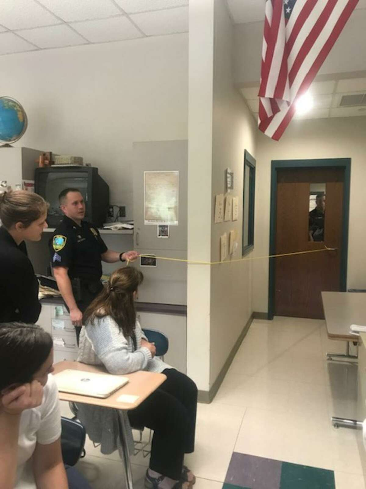"""In East Haven,385 school district teachers and faculty members participated in the national """"Stop the Bleed"""" and """"ALICE"""" training campaigns, sponsored by the East Haven Fire and Police Departments."""