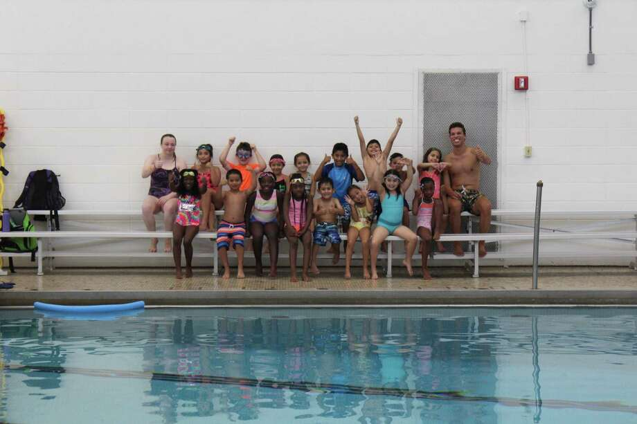 Campers from Horizons Summer Camp learned swimming and water safety at the New Canaan YMCA this summer. Photo: Contributed Photo / New Canaan YMCA / New Canaan Advertiser Contributed