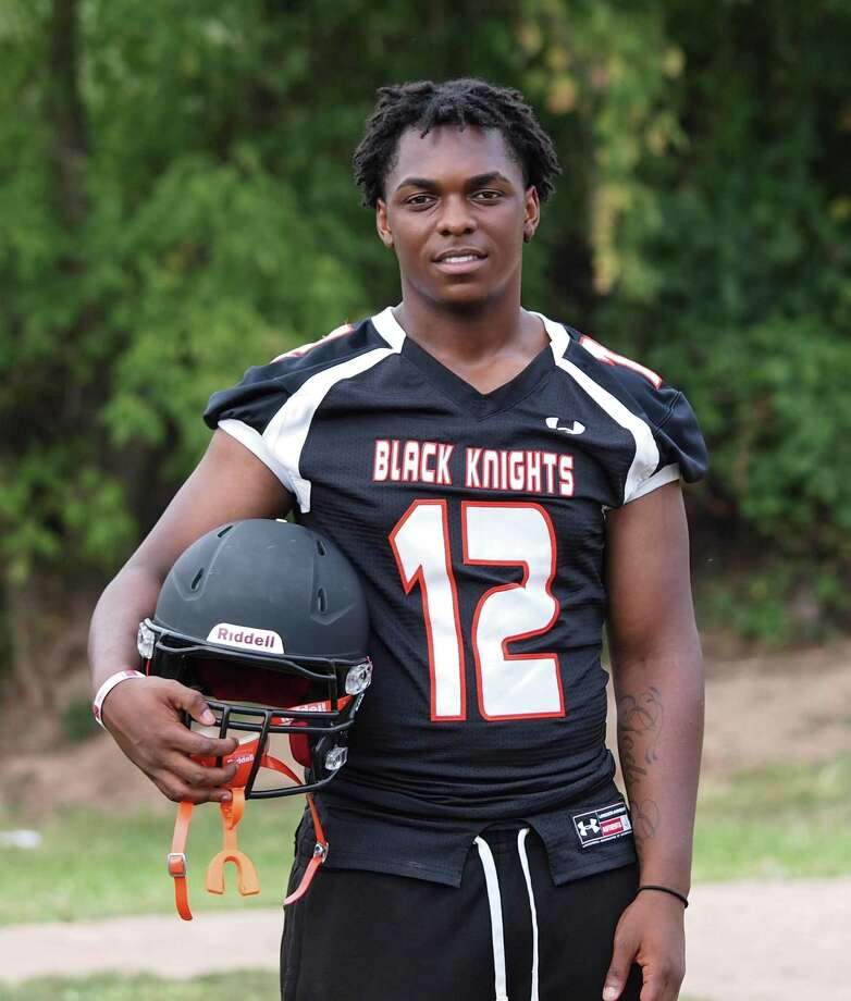 Ky-Mani Antoine-Pollack, who died Monday, played football for Stamford High School. Photo: Contributed Photo / Denice Dutra Laveris Photography