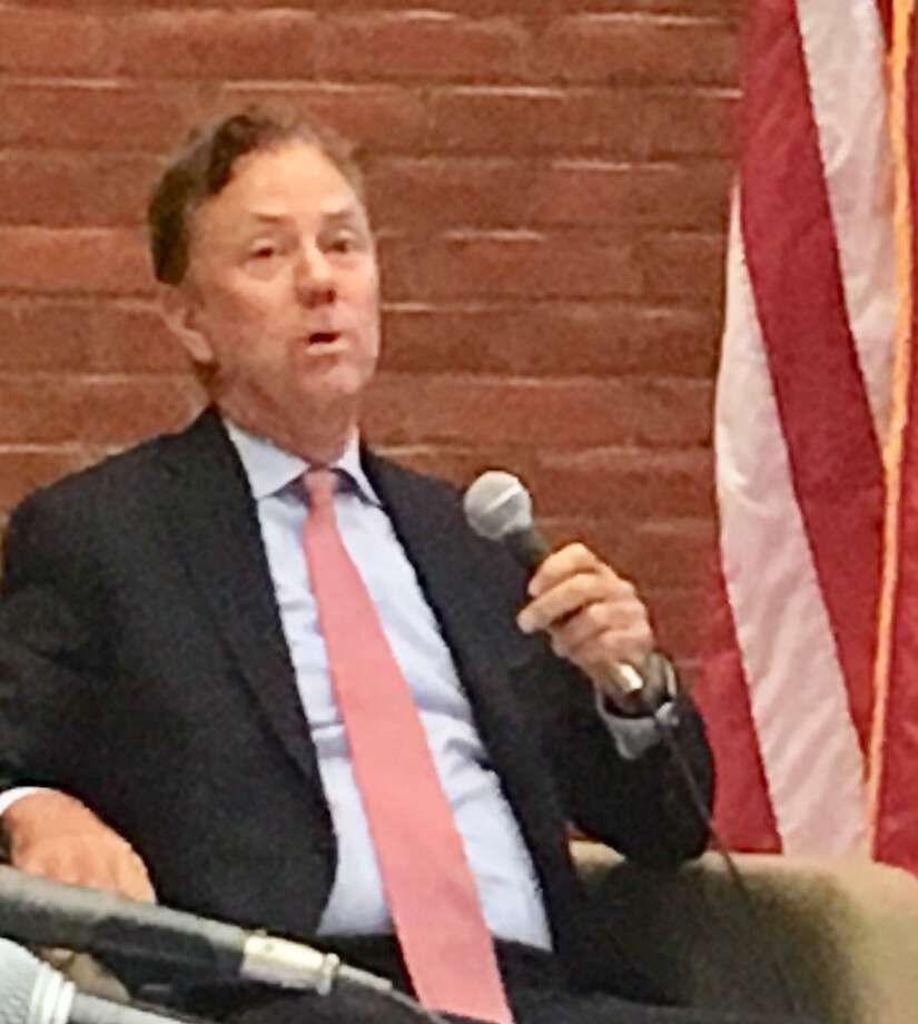 Gov. Ned Lamont at education meeting in Meriden. August. 27, 2019 Photo: Linda Conner Lambeck