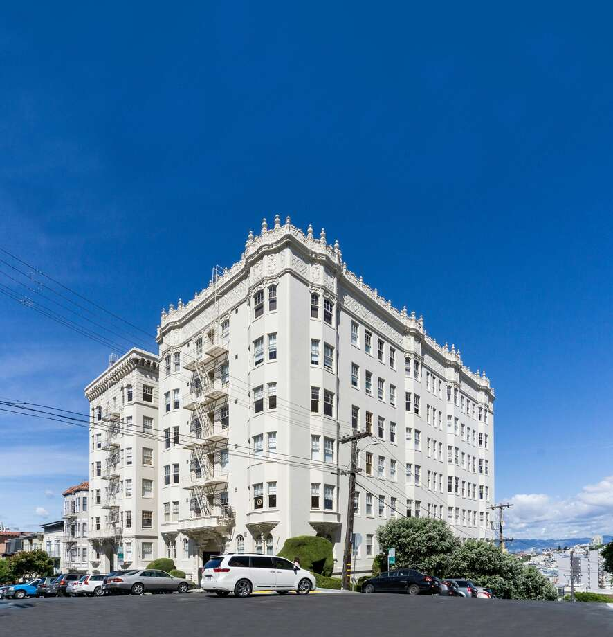 Breaking all records for this neighborhood is the sale of these trophy apartment buildings in Russian Hill Photo: Johnny Wu/Colliers International