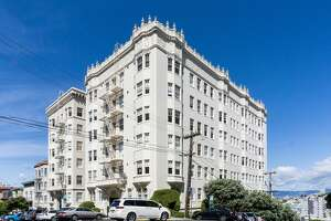 Breaking all records for this neighborhood is the sale of these trophy apartment buildings in Russian Hill