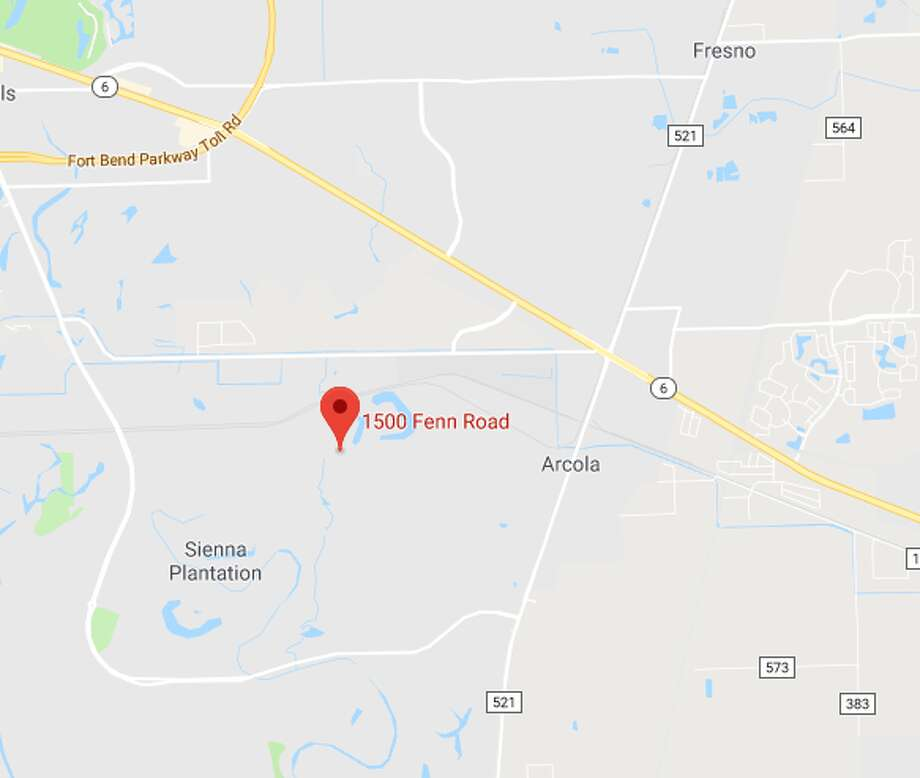A woman was crushed by a gate Thursday, Aug. 29, in Arcola, deputies said. Photo: Google Maps