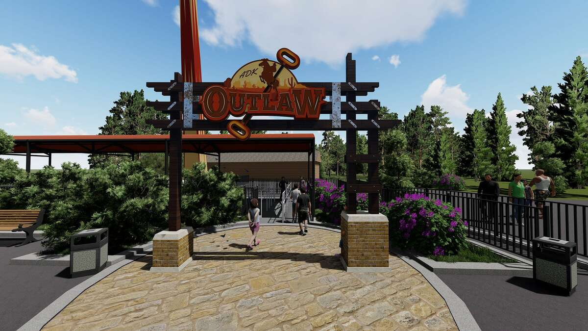 Six Flags Great Escape in Queensbury has a new ride for 2020: the Adirondack Outlaw.