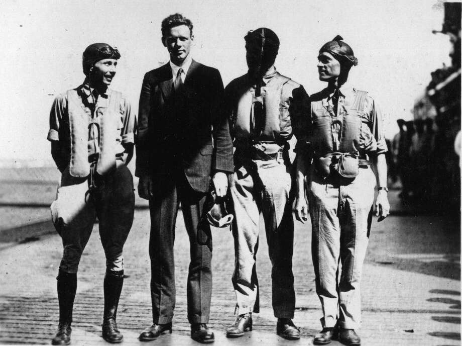 1927: Charles Lindbergh - Lived: 1902–1974 - Runners-up: N/A  When Time magazine editors first came up with the concept of the Person of the Year, the person to choose as 1927's standout individual was obvious: Charles Lindbergh. He flew solo across the Atlantic in 33 hours and 39 minutes.  This slideshow was first published on theStacker.com Photo: SDASM Archives // Flickr