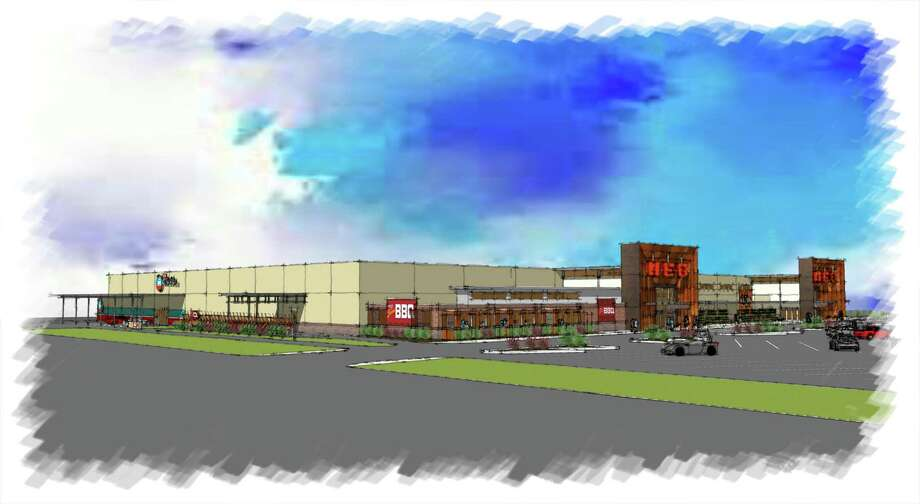 H-E-B is planning to open its first store in Lubbock in 2020. Photo: Illustration Courtesy Of H-E-B