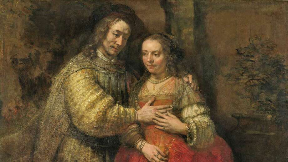 """Isaac and Rebecca,"" known as ""The Jewish Bride,"" by Rembrandt Photo: Contributed Photo"