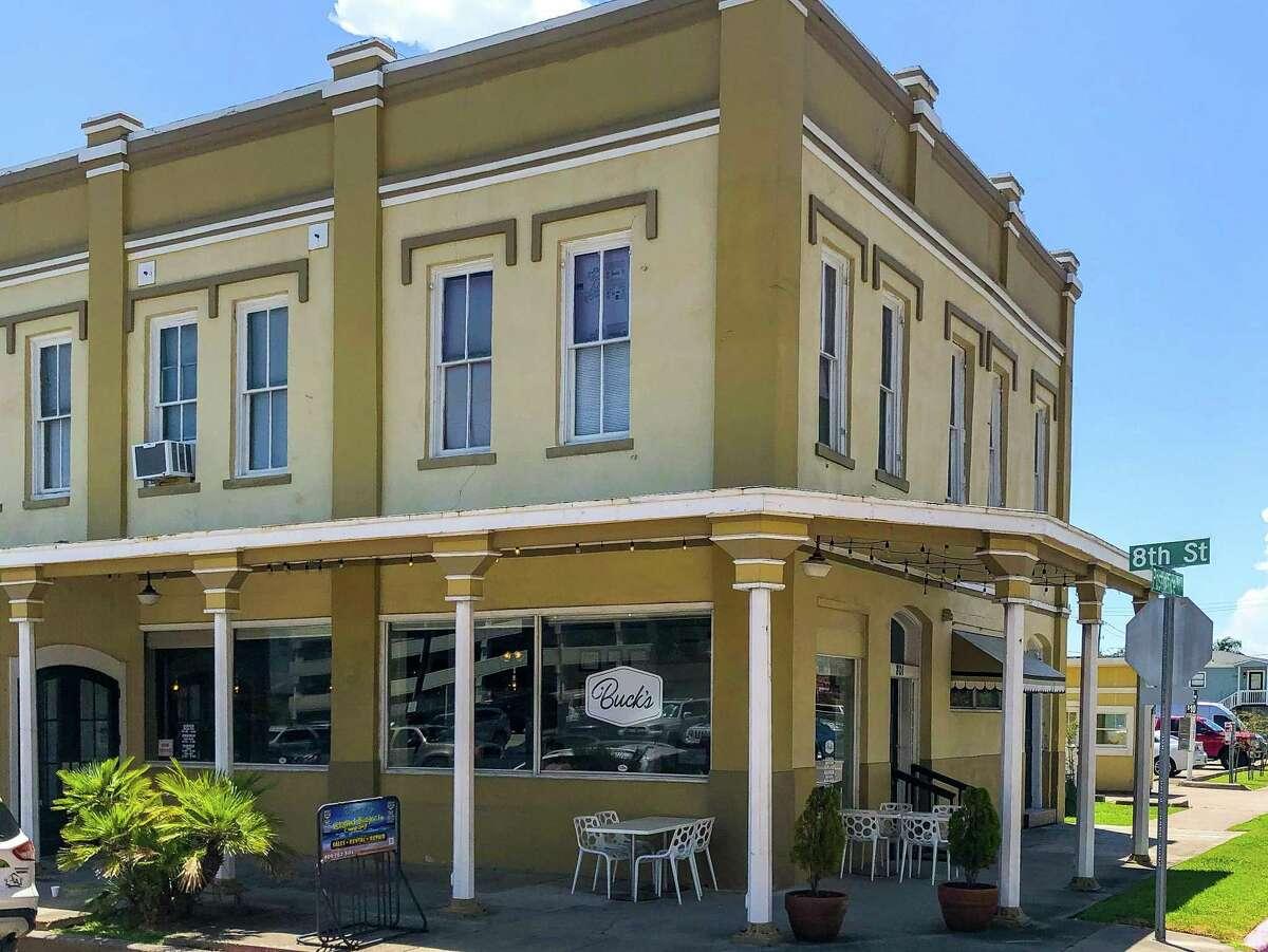 Buck's in Galveston is on Postoffice street.