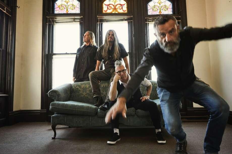 Rock band Tool Photo: Travis Shinn