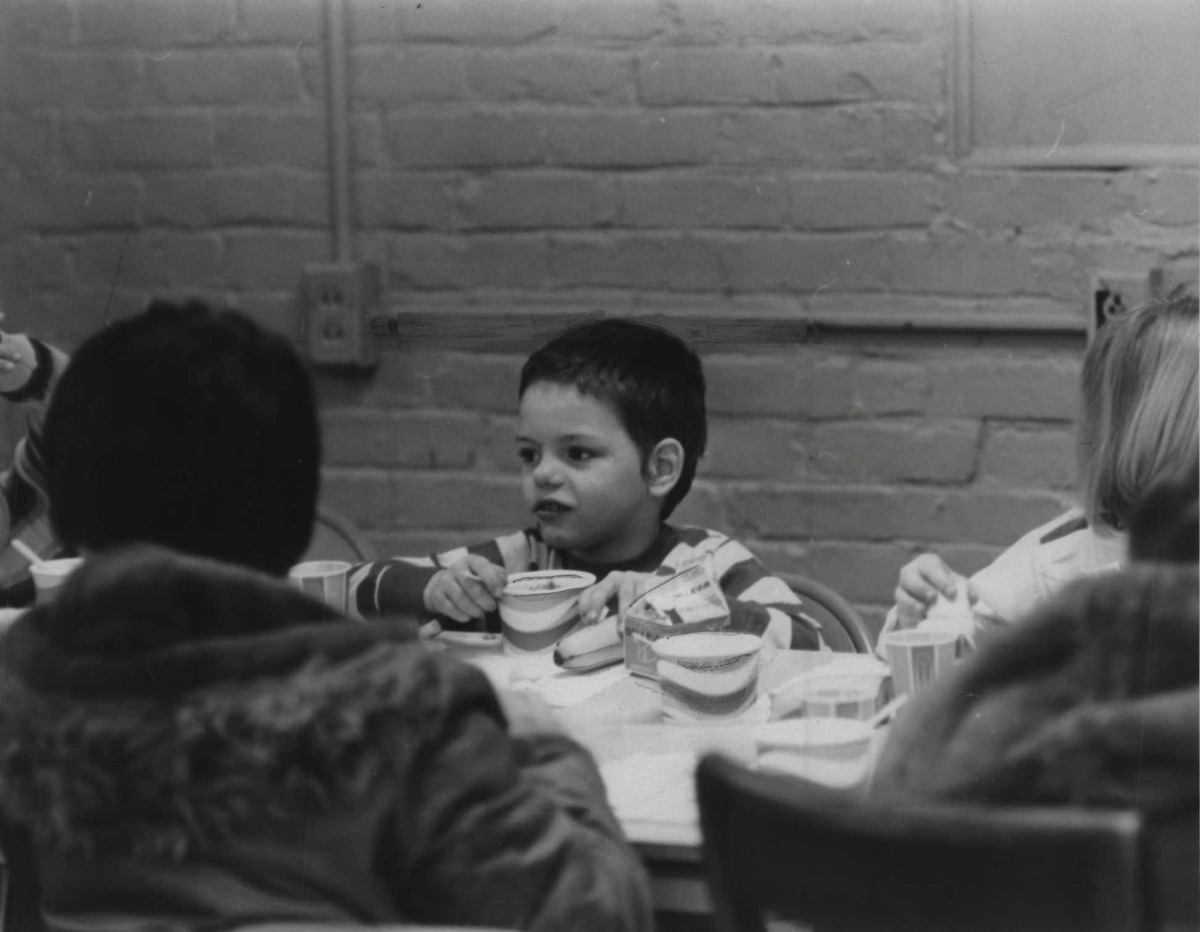 Albany, New York schools - lunch, breakfast programs - Brian Fetter. January 12, 1972 (Bob Paley/Times Union Archive)