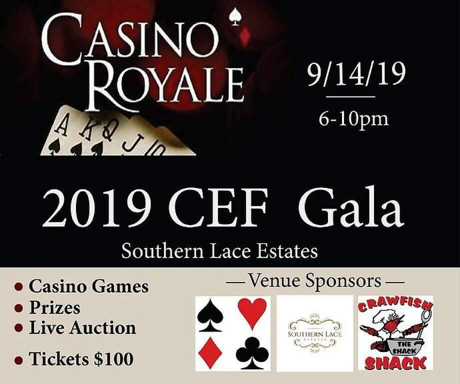 The Crosby Education Foundation will hold its fall casino-themed fundraiser on September 14 at Southern Lace Estates Photo: Crosby Education Foundation