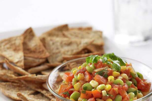 Corn salsa is perfect for September cooks.