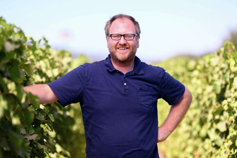 """Larkmead Vineyards winemaker Dan Petroski is planning a three-acre """"Research Block"""" to find grape varieties suitable for Napa Valley's future climate. Photo: Bob McClenahan / Bob McClenahan"""