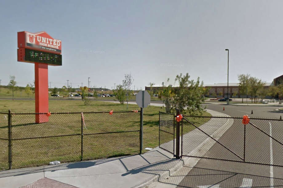 Late yesterday, United Independent School District received a tip regarding an alleged shooting that was to occur Friday at United High School. Photo: Google Maps/Street View