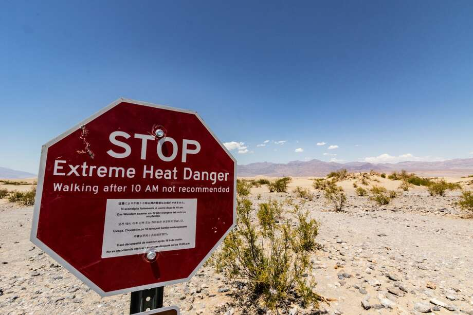 "Death Valley National Park reports: On Aug. 27 at 6 p.m., emergency responders received reports of a non-responsive visitor south of Badwater within Death Valley National Park.  Responders came from Inyo County Sheriff's office and California Highway Patrol in addition to National Park Rangers."" Photo: Stuart Picton/Getty Images/iStockphoto"