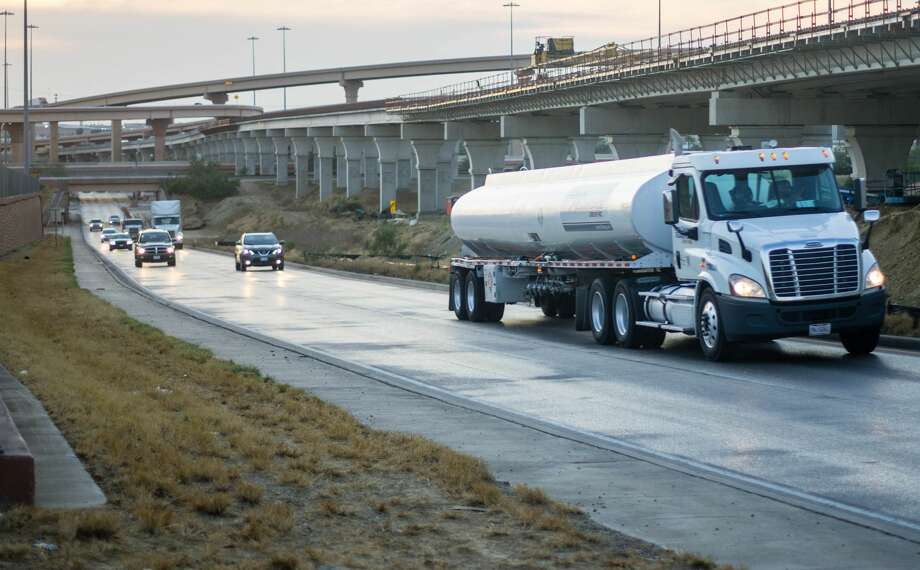 The City of Laredo officially received $220 million of funding for transportation projects on Thursday, which will be used in numerous areas around the city including the connections of I-35 and Loop 20. Photo: Louis San Miguel/Laredo Morning Times