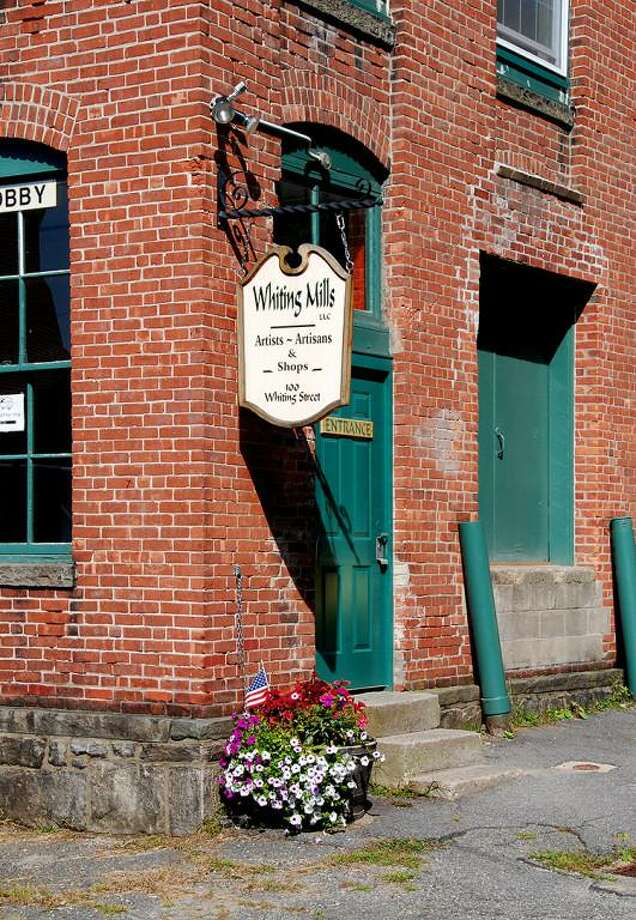 Whiting Mills, which is home to artists, retailers and offices, on Whiting Street in Winsted. Photo: Whiting Mills / Contributed Photo /
