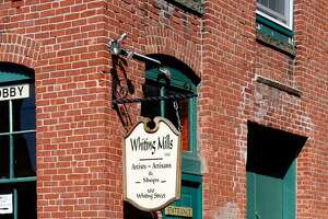 Whiting Mills, which is home to artists, retailers and offices, on Whiting Street in Winsted.