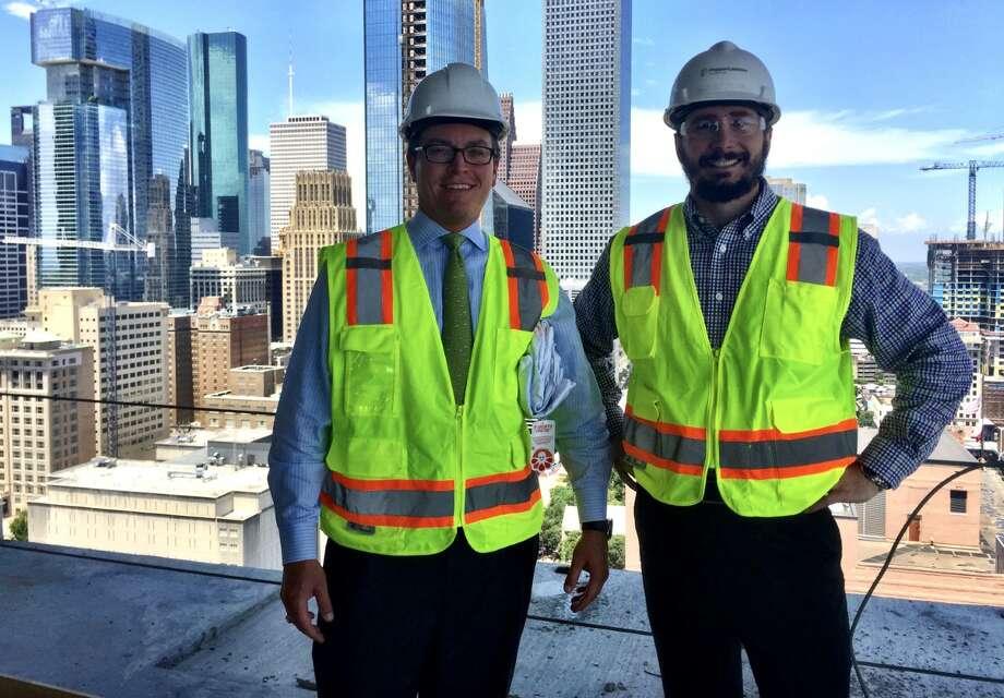 Wilson Cribbs & Goren Managing Shareholder Anthony Marre and attorney Derek Pershing Photo: Courtesy Photo