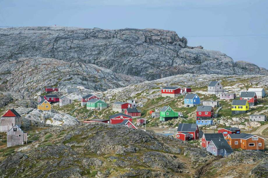 Kulusuk, Greenland during an unusual heat wave in August. A reader finds it ridiculous Trump wanted to acquire the territory, which is not for sale, from Denmark. . Photo: JONATHAN NACKSTRAND /AFP /Getty Images / AFP or licensors