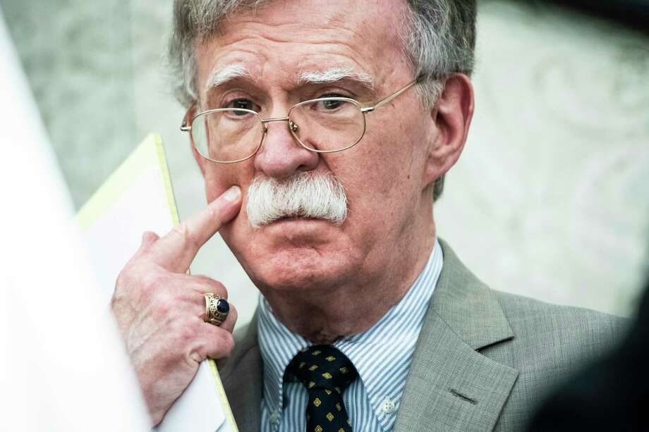 John Bolton has enabled President Trump to act on his most aggressive instincts and outmaneuvered other Cabinet officials with less experience in the interagency process. But the national security adviser's tough management style and bellicose worldview have frayed relations with some colleagues. Photo: Washington Post Photo By Jabin Botsford / The Washington Post