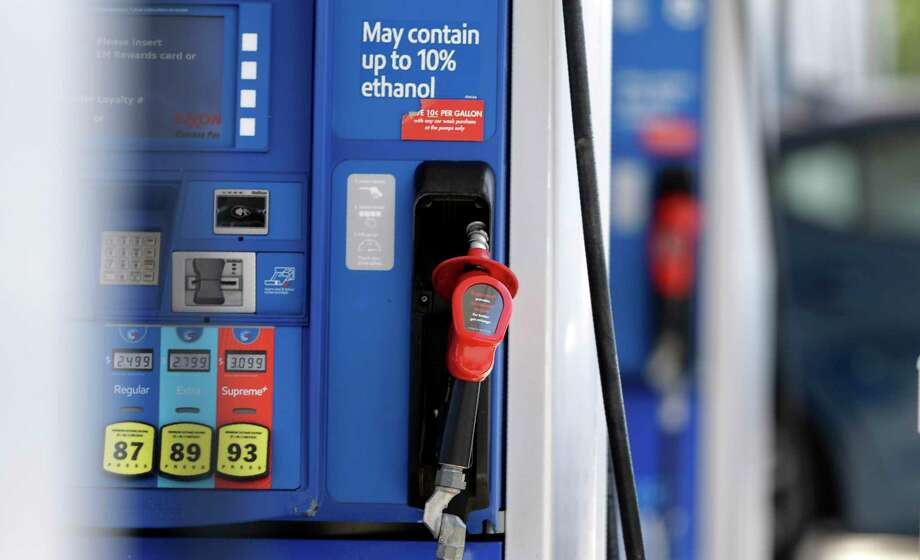 Fuel costs are falling thanks to the end of the bust driving season and the continued muted prices for crude oil. NEXT: See gasoline prices in Texas' biggest cities. Photo: Gerry Broome, STF / Associated Press / Copyright 2019 The Associated Press. All rights reserved