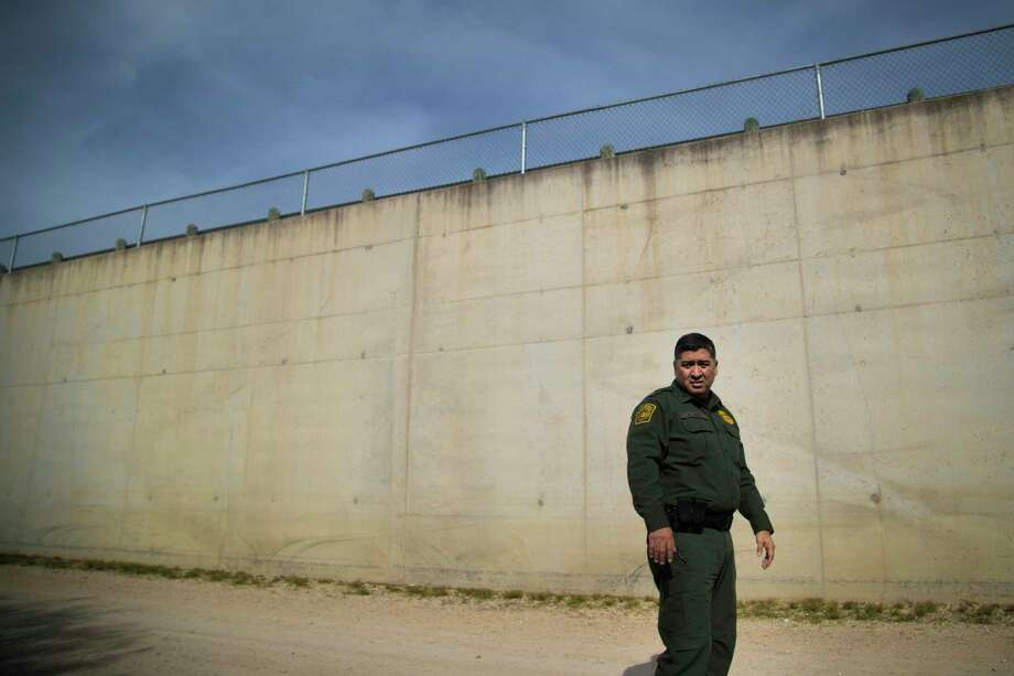 U.S. Customs and Border Protection Rio Grande Valley Acting Chief Raul Ortiz by a concrete wall on Tuesday, Dec. 11, 2018. Photo: Marie D. De Jesús, Houston Chronicle / Staff Photographer / © 2018 Houston Chronicle