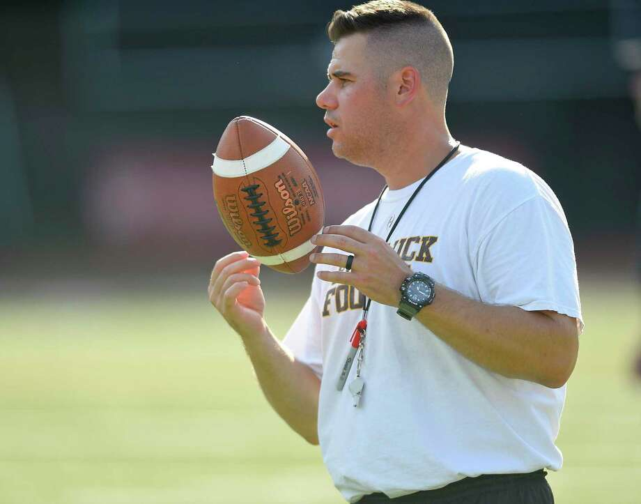 Brunswick head coach Mike Hannigan has the Bruins off to a 4-1 start going into Saturday's matchup against Salisbury. Photo: Matthew Brown / Hearst Connecticut Media / Stamford Advocate
