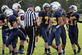 Visiting Harbor Beach handed Bad Axe a 41-14 defeat in the 2019 season opener on Friday night.