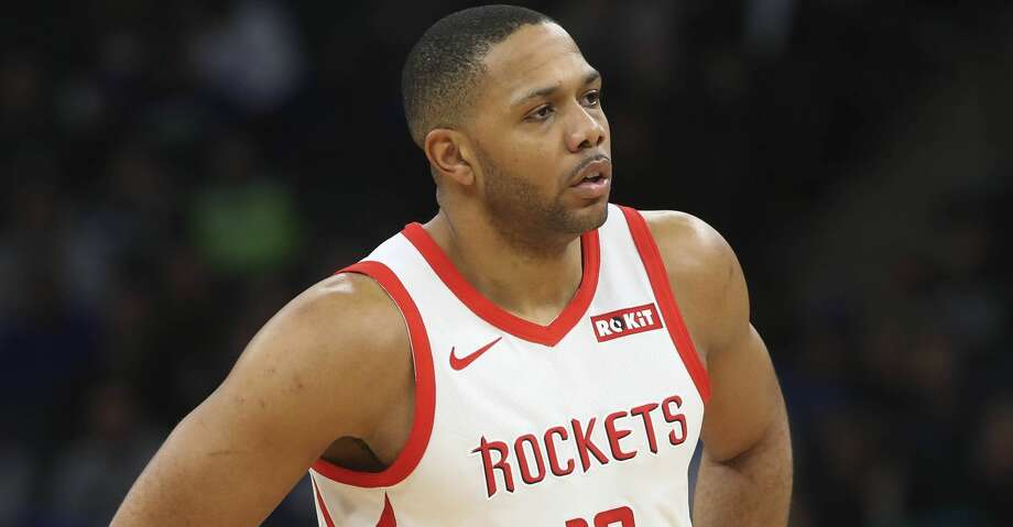 Houston Rockets' Eric Gordon plays against the Minnesota Timberwolves in an NBA basketball game Wednesday, Feb. 13, 2019, in Minneapolis. (AP Photo/Jim Mone) Photo: Jim Mone/Associated Press