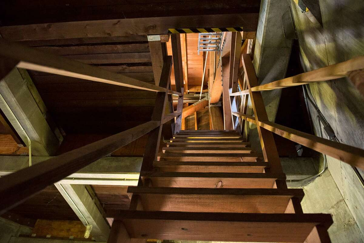 Each narrow staircase in the Windmill, although very sturdy, felt like climbing up into a treehouse.