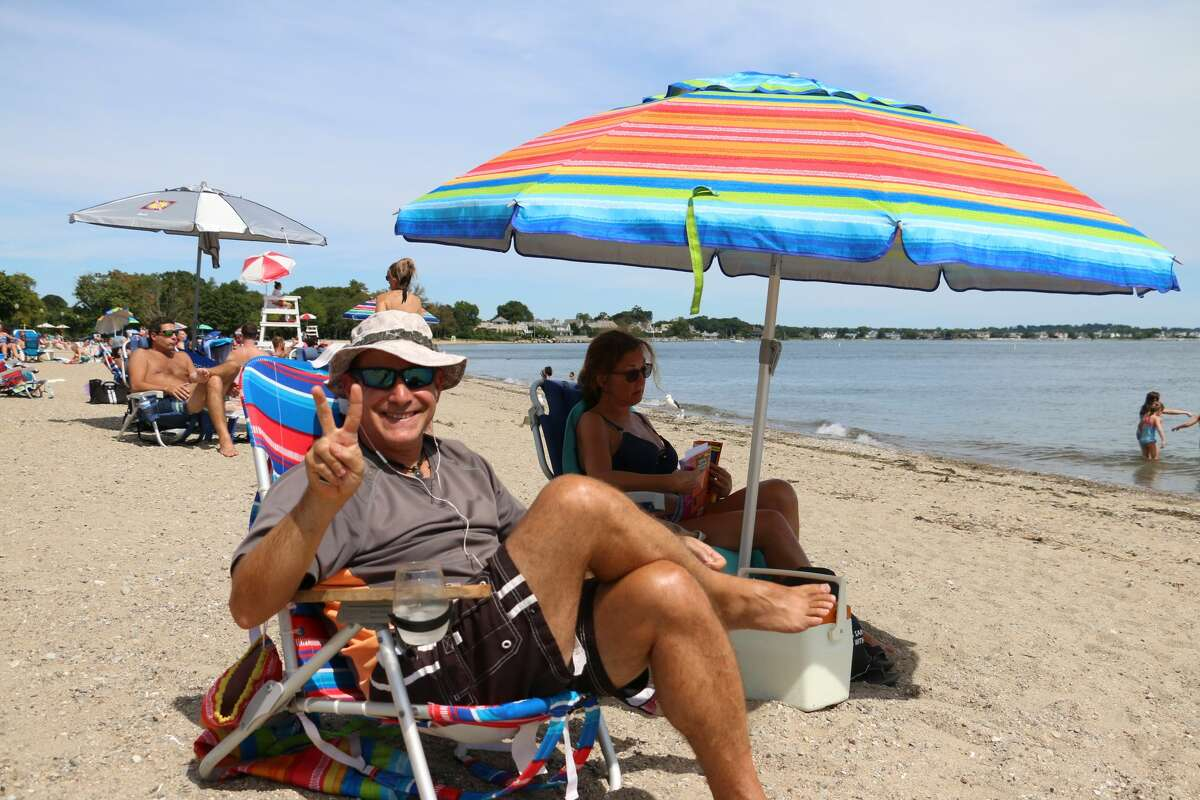 Were you SEEN soaking up the last days of the season at Calf Pasture Beach in Norwalk on August 31, 2019?