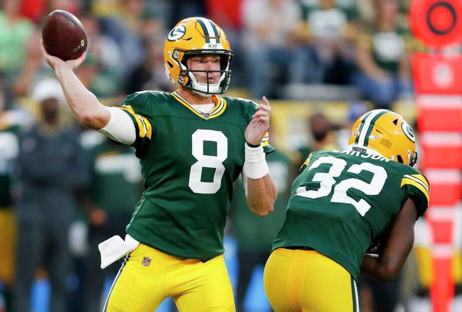 After a stellar preseason, Tim Boyle will serve as the backup quarterback for the Green Bay Packers when the season starts. Photo: Matt Ludtke / Associated Press / Copyright 2019 The Associated Press. All rights reserved.
