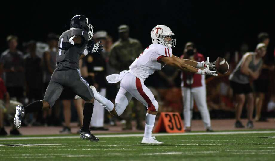 Tomball (1-1) defeated Santa Fe 42-14 in non-district play, Sept. 6, at Tomball ISD Stadium, while Tomball Memorial beat Klein 47-21 in non-district play, Sept. 5 at Tomball ISD Stadium. Photo: Jerry Baker, Houston Chronicle / Contributor / Houston Chronicle