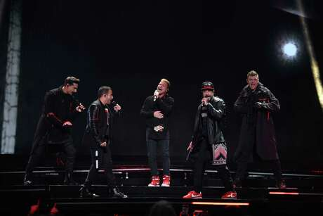 The Backstreet Boys perform at the Toyota Center in Downtown Houston for the DNA World Tour on Saturday, August 31, 2019