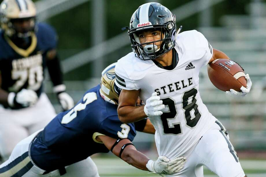 Steele (1-0) 43 vs. O'Connor (0-1) 31Steele now leads series 4-2 Photo: Marvin Pfeiffer, Staff Photographer / Express-News 2019