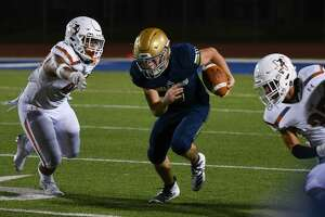 Alexander receiver Junior Rodriguez has 279 receiving yards and three touchdowns this season.