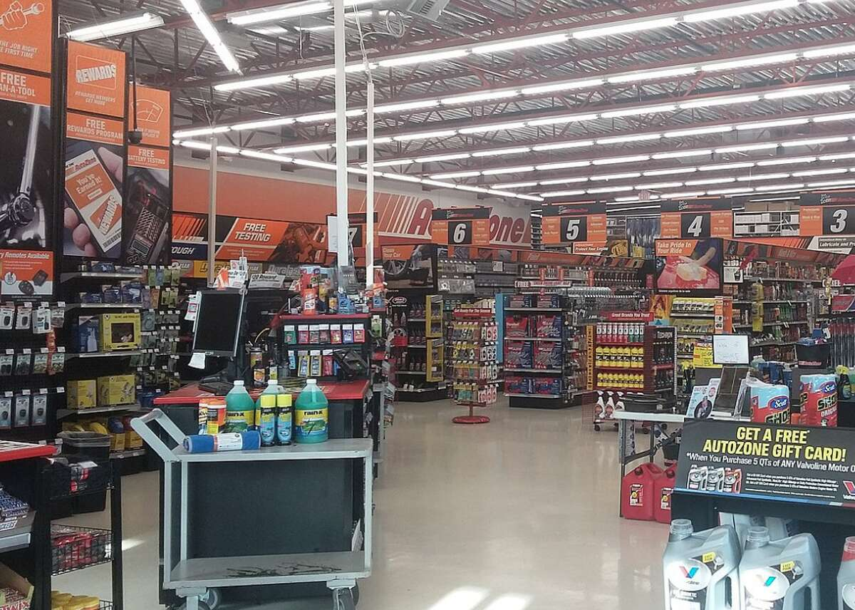 #50. AutoZone - 2018 retail sales: $9.46 billion - Number of stores in 2018: 5,552 - U.S. headquarters location: Memphis, TN Though its headquarters are located in Memphis, AutoZone operates more than 6,000 stores across the United States, Mexico, and Brazil, selling aftermarket car parts and accessories. Under the leadership of William C. Rhodes III, CEO and president since 2005 and chairman since 2007, AutoZone's stock has increased more than 100% over the past five years. This slideshow was first published on theStacker.com