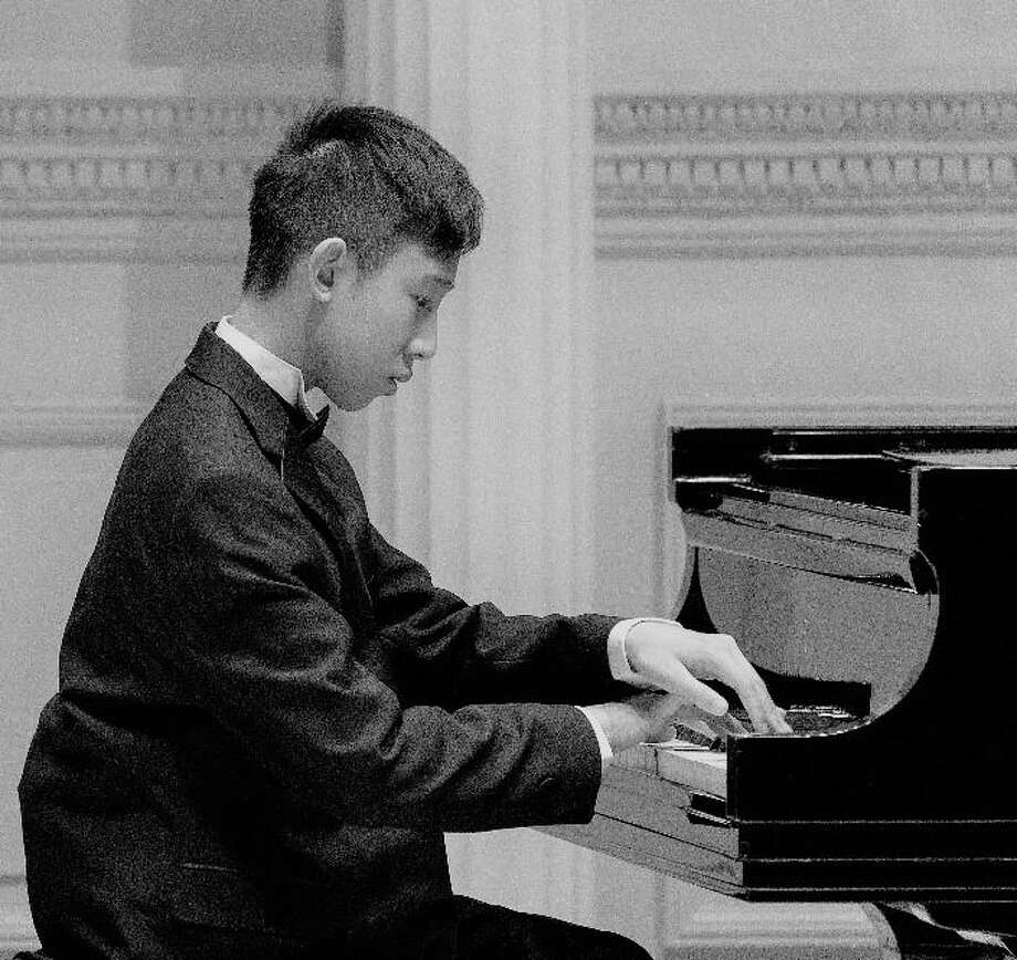 Timothy Chen, 14, will perform at the Richter House in Danbury at 3 p.m. Sunday. Photo: Contributed Photo / Contributed / The News-Times Contributed