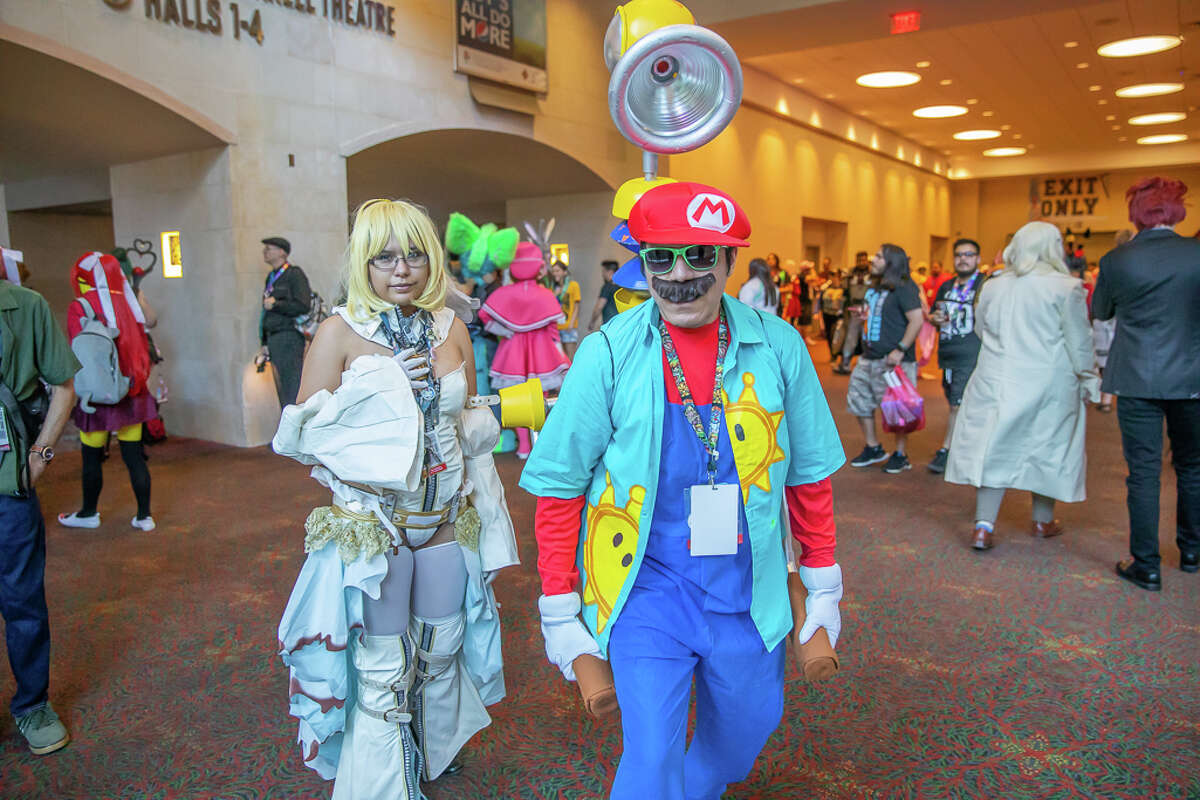 Anime fans came out on Labor Day Weekend to join in the fun at the annual anime and gaming convention, which took place in downtown San Antonio.