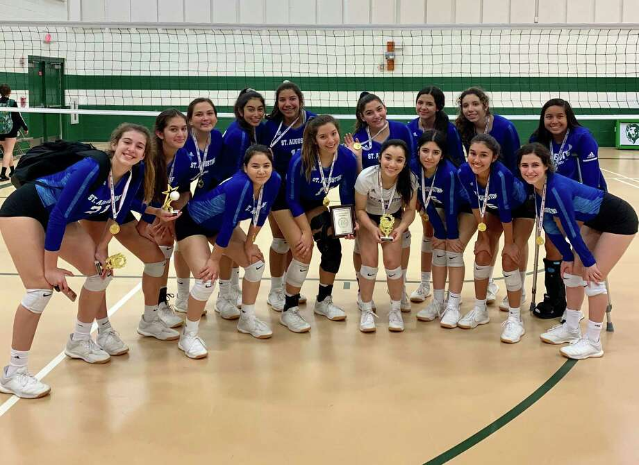 St. Augustine (20-6) defeated McAllen Idea Saturday to win the Juan Diego Academy Tournament. Photo: Courtesy Of St. Augustine Athletics