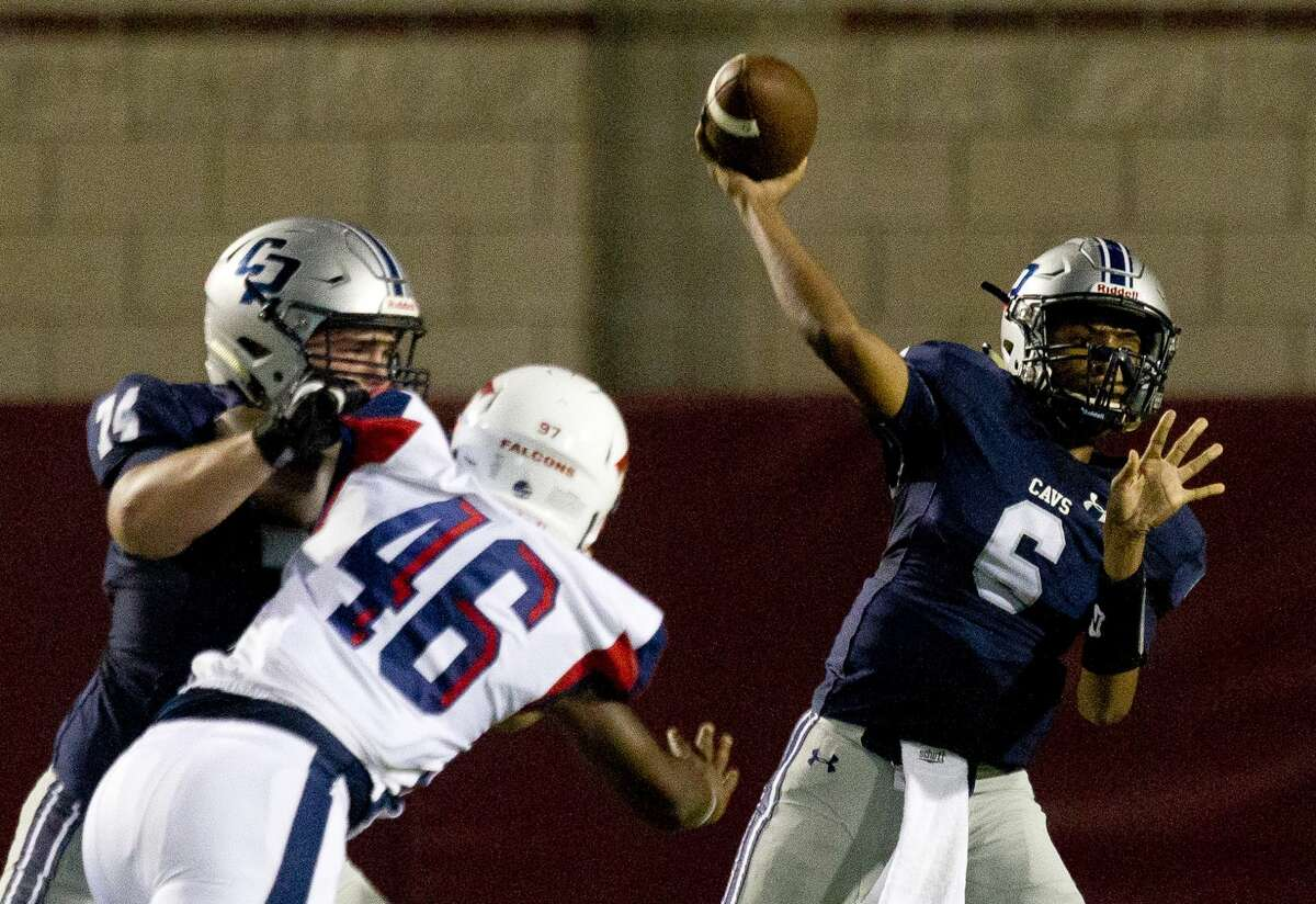 Quarterback Ty Buckmon and College Park look to stay atop District 13-6A, a league that will feature quite a bit of change with its QBs.
