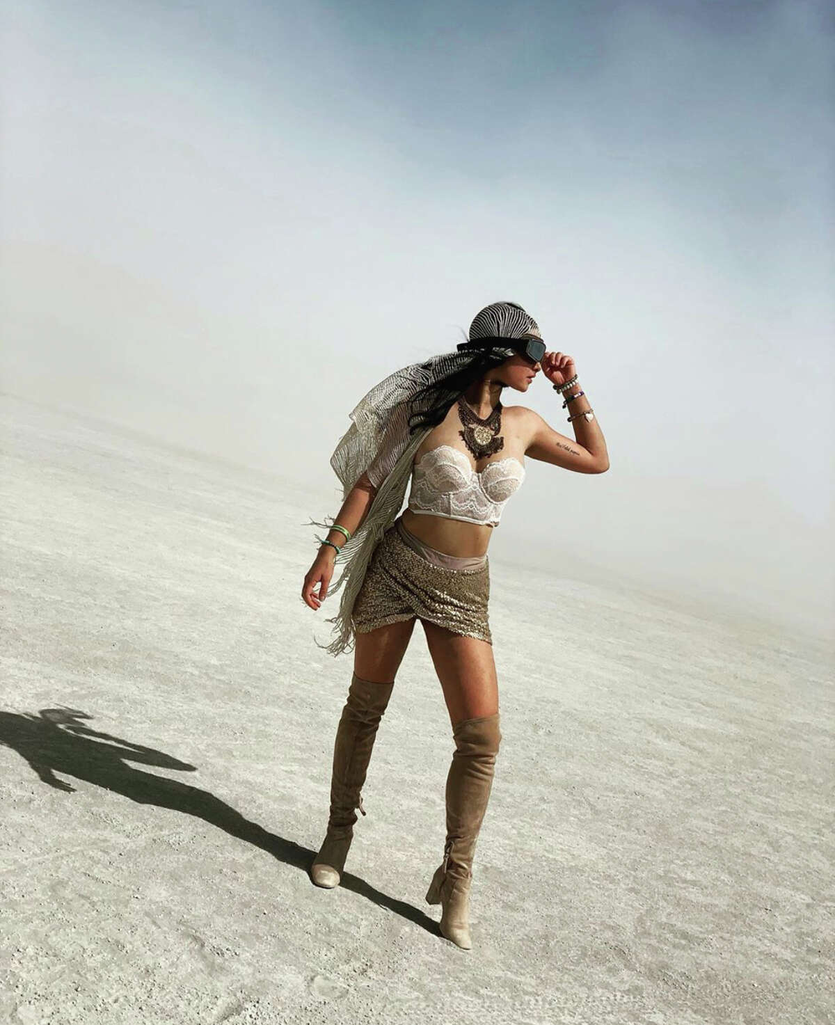Lost in the dunes at Burning Man.