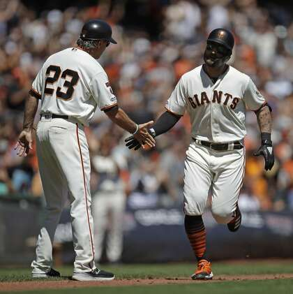 Giants' Kevin Pillar breaks team's drought of 20-HR players; 3 others close