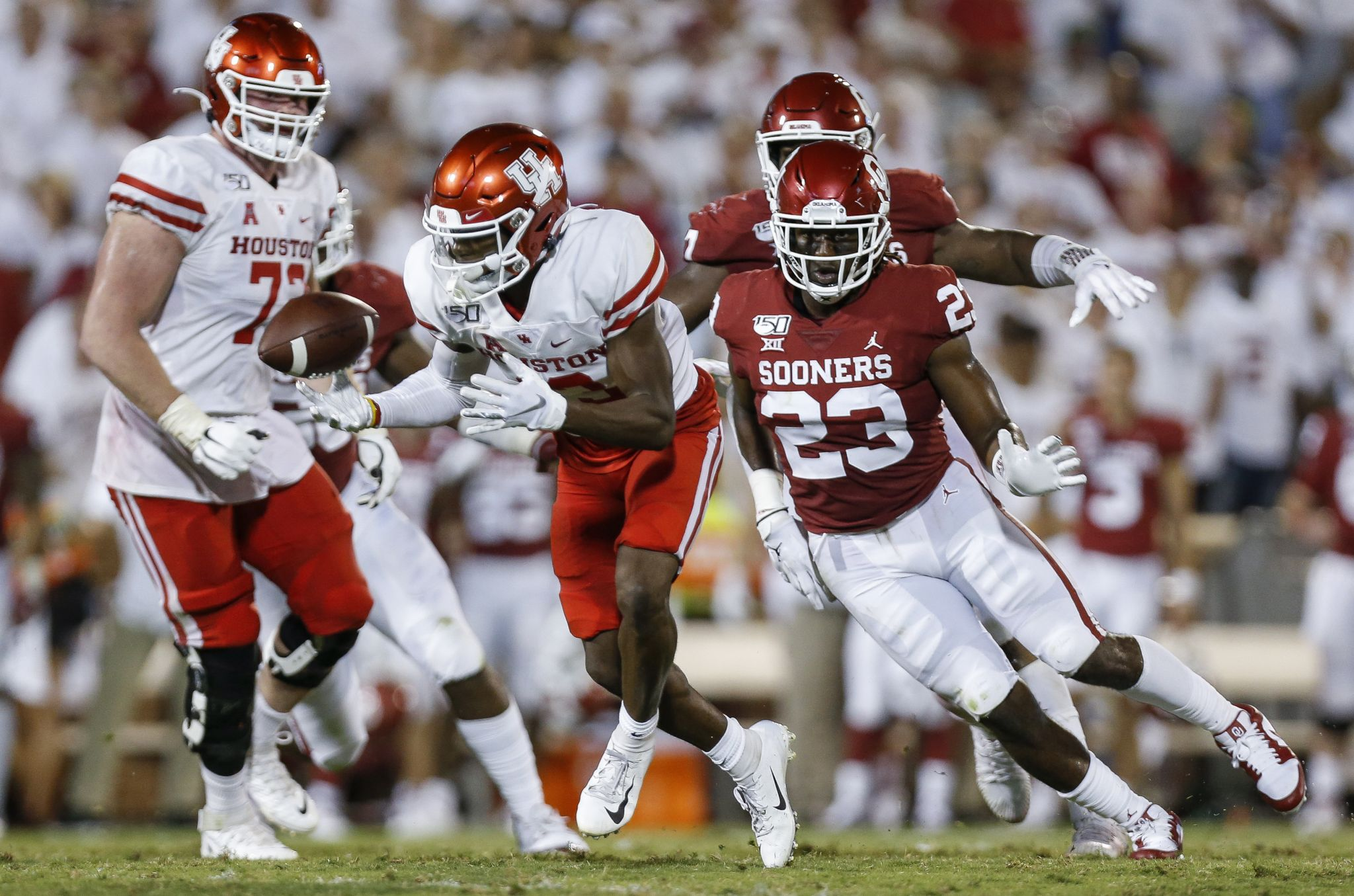UH football may face record number of ranked opponents